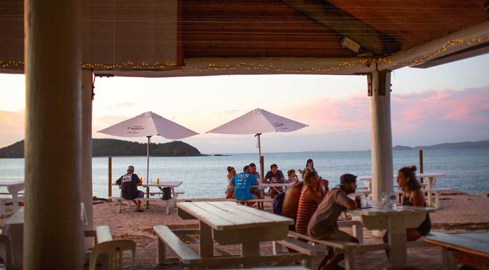 great keppel island restaurants